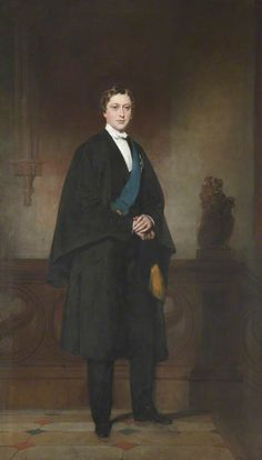 Albert Edward Prince of Wales (later Edward VII) in 1861 ~ John Watson Gordon. A4 Poster, Poster Prints, Alexandra Of Denmark, Queen Victoria Family, Cap And Gown, John Watson, Art Uk, Prince And Princess, Prince Of Wales