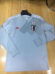 Wsapp:008618028684142 2018 World Cup Japan Away Long Sleeve Shirt 14.5€ Thai Quality