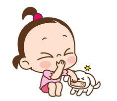 ★카카오톡 '쥐방울 이쁨주의!'이모티콘★ : 네이버 블로그 Cute Couple Cartoon, Cute Cartoon Pictures, Cute Love Cartoons, Gif Pictures, Cute Pictures, Funny Emoji, Cute Emoji, Cute Love Gif, Gif Collection