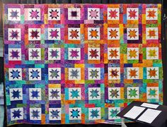 Lucky Stars and La Fete de Noel! Perfect fabric for a perfect ... : lucky star quilt pattern - Adamdwight.com