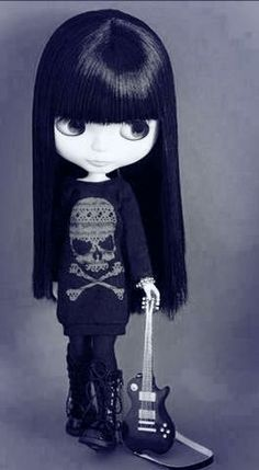Love this death metal doll!