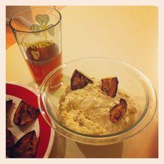 Charred onion dip with homemade pita chips #larryskitchen