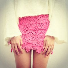 i need this pink lace skirt for summer! Pink Lace Skirt, Diy Shorts, Sabo Skirt, Australian Fashion, Summer Outfits Women, Classy And Fabulous, Fashion Labels, Covet Fashion, Types Of Fashion Styles