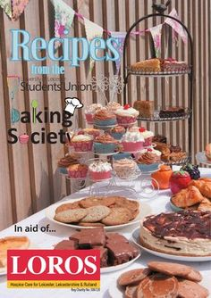 Recipes from the University of Leicester Baking Society