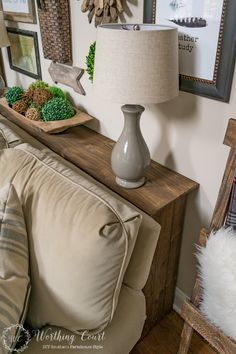 Welcome Winter & Adding Cozy To My Family Room - Worthing Court