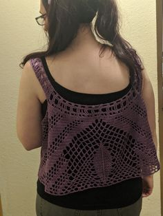 Echoing the leaf motif seemed like the right choice Crochet Top, My Design, Challenges, Lingerie, Clothes, Tops, Women, Fashion, Outfits