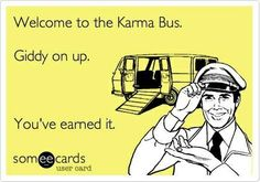 I really appreciate Karma showing up last night in my front yard..but this I have to say: don't show up to my house when my kids are there! Sorry....it's not ok