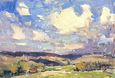 Rolling Hills by Eric Jacobsen Oil ~ 18 x 26