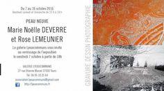 Marie-Noëlle Deverre et Rose Lemeunier exposent à Tours