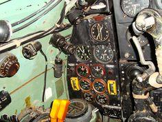 Mosquito Cockpit Photos