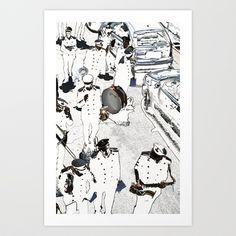 banda musicale Art Print by Francesco Mestria - $12.48