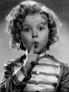 Shirley temple - American icon- Mom and Dad used to drop my sister and I off at the Show Sunday afternoon after church. We watched Shirley Temple movies, cost us 35 cents!
