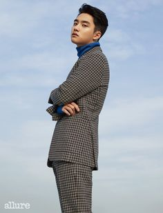 Majalah allure D.O Kyungsoo Baekhyun Chanyeol, Park Chanyeol, Do Kyung Soo, K Pop, Chen, Luhan And Kris, Exo Album, Exo Lockscreen, Kim Minseok