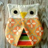 Owl Hotpad Pincher  by Patchwork Posse