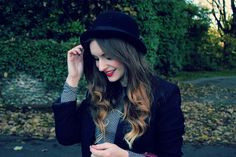 bowler hat and ombre