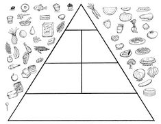 Food Pyramid Coloring Page . 24 Food Pyramid Coloring Page . Food Pyramid with Healthy and Fresh Food Coloring Pages Food Pyramid Kids, Pyramid Game, Kindergarten Worksheets, Worksheets For Kids, Printable Worksheets, Free Printable, Food Coloring Pages, Coloring Pages For Kids, Kids Coloring