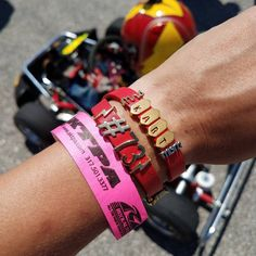 """My absolute favorite use of my KEEP -- to tell a story. Today's story is about being a karting wife…"""""""