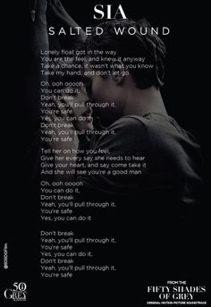 """Lyrics to """"Salted Wound"""" by Sia 