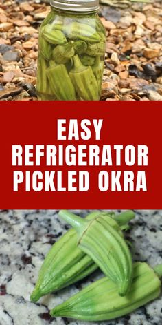 Refrigerator Pickled Okra - Refrigerator - Trending Refrigerator for sales. - Have you tried pickled okra? It's delicious and it's simple to make. Find out how here. Canning Pickled Okra, Pickled Okra Recipes, Canning Recipes, Easy Canning, Oven Recipes, Easy Recipes, Recipies, Canning Vegetables, Veggies