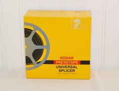 Vintage Kodak Presstape Universal Splicer (c. 1980) 8mm, Super 8 and 16 mm Film Splicer, Eastman Kodak, Vintage Home Movie, Film Equipment by TooHipChicks on Etsy