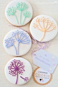 circle sugar cookie decorating ideas - Google Search