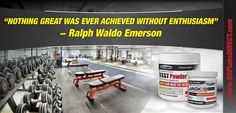 Great quote from Ralph Waldo Emerson. #fitness #quote #motivation #testpowder #jack3d