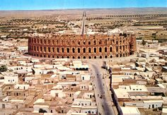 Roman Colosseum at El Jem, Tunisia Loved it more than Rome!