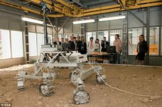 Esa has been busy testing a prototype of its ExoMars rover, pictured here, which will be s...
