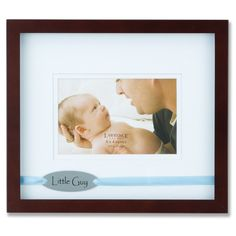Blue Ribbon Shadow Box Picture Frame