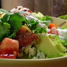 Chicken Avocado Salad - You can even have it as a meal in a sandwich, or as a salad atop a lettuce leaf.