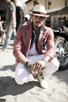 The fresh attitude by Mariano Di Vaio from MDV Style.