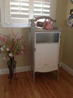Antique Sheet Music Cabinet... https://www.facebook.com/chicksinabarn
