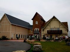 Place to check out via bike this summer...New Glarus Brewery