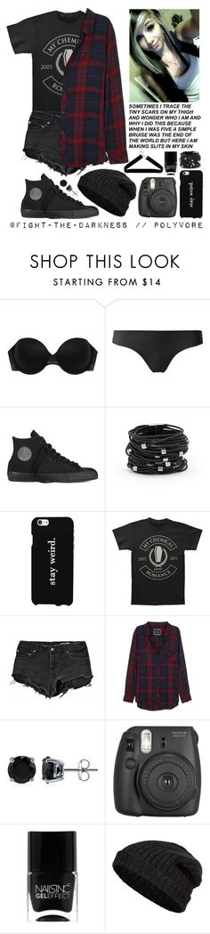 """PRP #17 - Date."" by fight-the-darkness ❤ liked on Polyvore featuring Addiction, Converse, Chico's, LG, Ksubi, Rails, BERRICLE, Nails Inc., Closed and Boohoo"