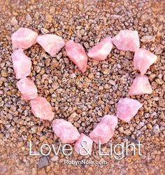 Sending you some loving rose quartz energy today. Rose quartz helps open up a doorway to love. #rosequartz #hearts #love #light #healing #crystals #pink #inspirational #gifts