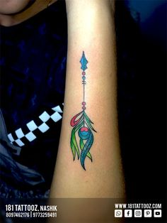 While geometric designs are trending now a days, An arrow added up with Peacock feather looks outstanding. Peacock feather that enhances the aesthetic beauty. Get such beautiful and meaningful customized tattoos @181_tattooz_studio For more details visit our website www.181tattooz.com Or contact us on 8097462176 / 9773259491 Aesthetic Beauty, Creative Tattoos, Geometric Designs, Deathly Hallows Tattoo, Watercolor Tattoo, Peacock, Arrow, Feather, Website