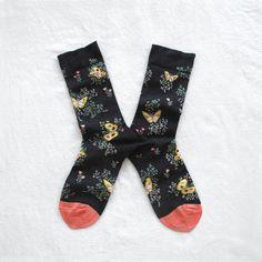 Chaussettes Bonne Maison / Bonne Maison socks - Papillons