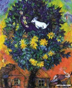 Autumn in the Village (Marc Chagall)