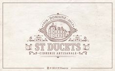 French designerJean-Charles Desevre specializes in creating beautifully complex logos, emblems and labels.