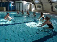 Poolbiking à la piscine de Lillers et d'Arras