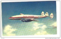 PACIFIC NORTHERN airlines Lockheed Constellation airplane , 1950s - Delcampe.com