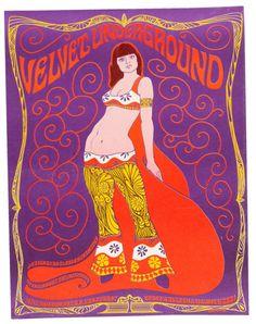 """Este otro, a favor de la boutique """"Velvet Underground"""" en San Francisco y, nada que ver con la icónica banda."""