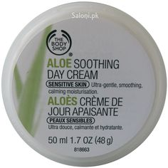 Buy Aloe Soothing Day Cream from The Body Shop: The Aloe Soothing Day Cream is a gentle moisturizer that helps calm sensitive and dry skin. Formulated without fragrance, color, preservatives and alcohol, this is the perfect choice for sensitive skin. Best Night Cream, Anti Aging Night Cream, Cream For Oily Skin, Skin Cream, Cream Cream, The Body Shop, Body Shop Online, Skin Tightening Cream, Best Face Products