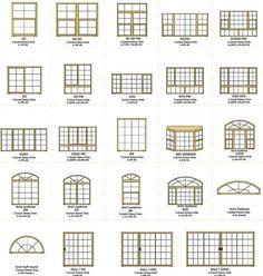 Home Window Grill Design, House Window Design, Home Room Design, Home Design Plans, Door Design, House Design, New Home Windows, Modern Windows, House Windows