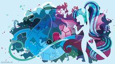 Sonata Dusk EQG Silhouette Wall by SambaNeko on DeviantArt