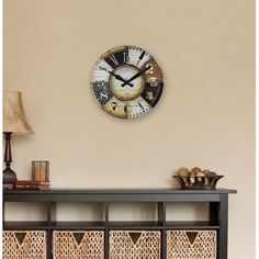"""FirsTime 15.5"""" Collector Wall Clock"""