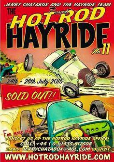 Hot Rod Hayride nº 11 24th-25th July 2015. BISLEY PAVILION, BISLEY CAMP, QUEENS ROAD, BROOKWOOD,  SURREY GU24 0NY. UK