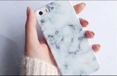 Marble iPhone case. #phone #case #phonecase #marble #white #grey #apple #iPhone