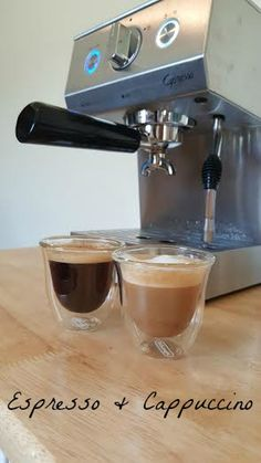 Start up your mornings with a shot of espresso with a Cafe PRO  Capresso Cafe PRO Espresso & Cappuccino Machine Giveaway