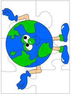 Kindergarten Worksheets, Kindergarten Classroom, Preschool Activities, Crafts For Kids, Arts And Crafts, School Decorations, Earth Day, Spring Crafts, Ecology